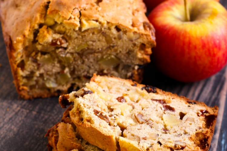 recette pain aux dattes et pommes map