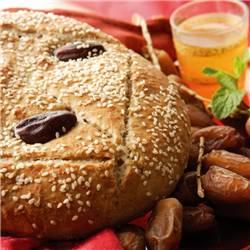 recette pain thé vert et dattes map