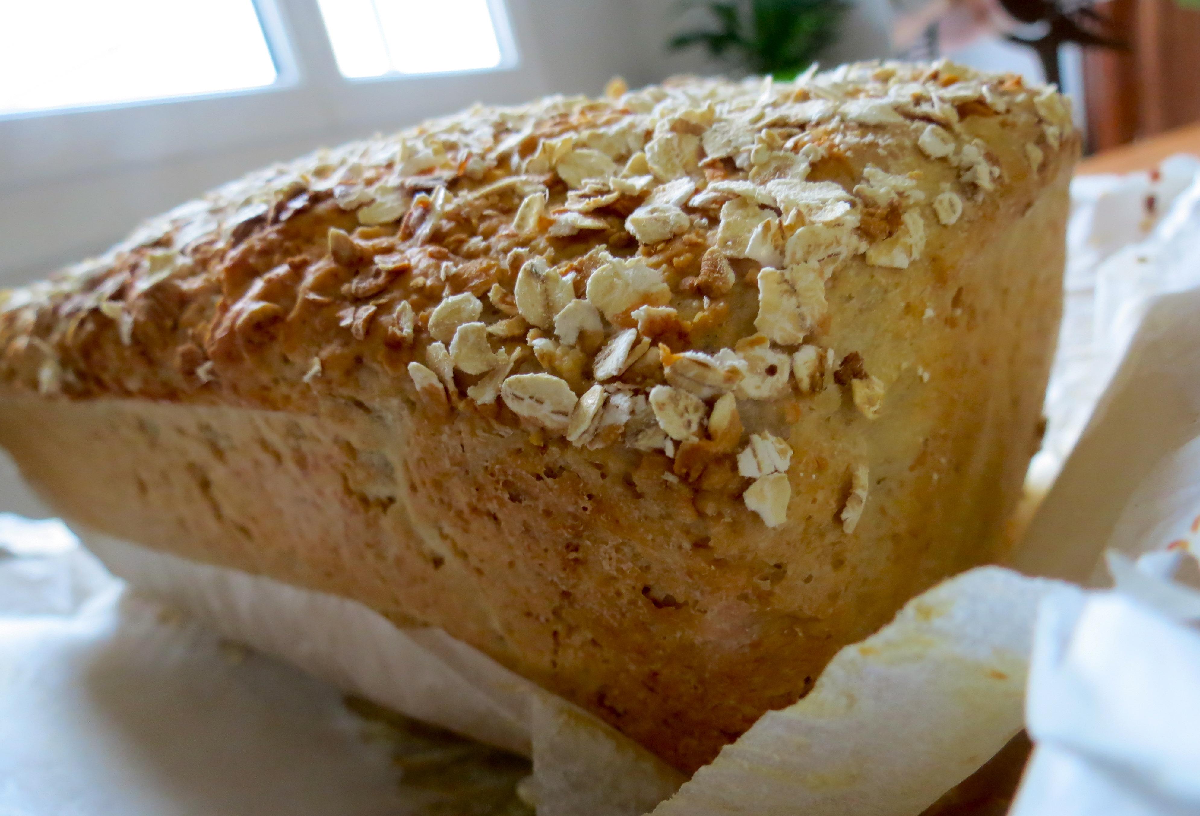 recette pain sirop d'érable flocons d'avoine map