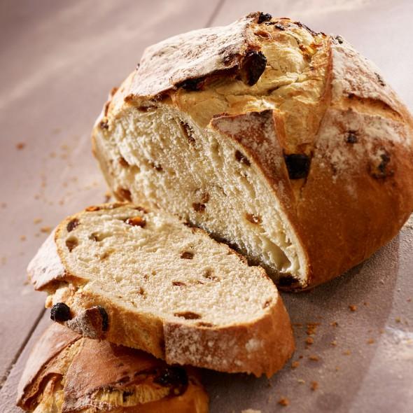 recette pain aux raisins sec map