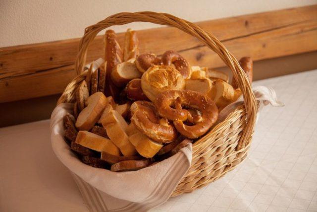 corbeille à pain traditionnelle