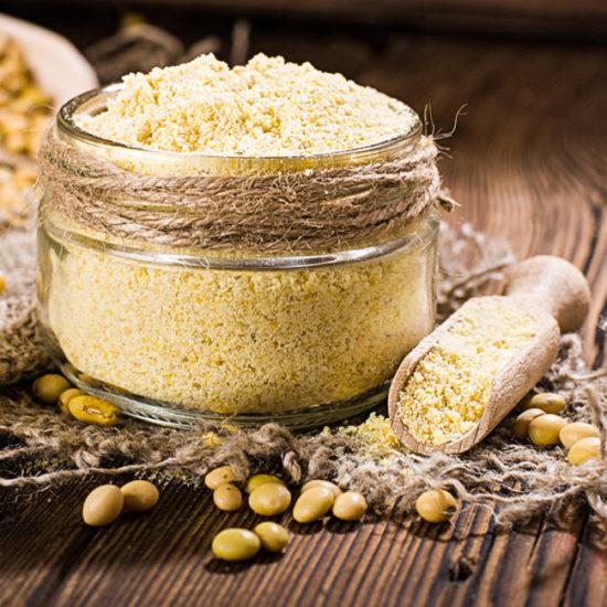 farine de soja